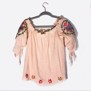 NWT Entro Embroidered Shirt